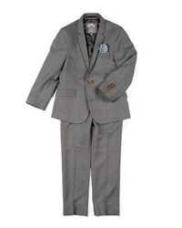 Appaman Boys' Two Piece Mod Glen Plaid Suit 2 14 Gray