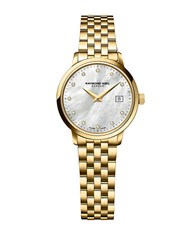 Raymond Weil Ladies Toccata Goldtone And Diamond Watch