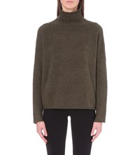 French Connection Weekend Flossie Knitted Jumper Khaki