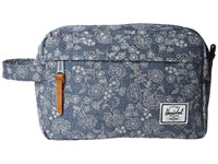 Herschel Chapter Floral Chambray Toiletries Case Multi