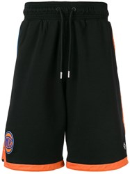Marcelo Burlon County Of Milan Ny Knicks Shorts Black