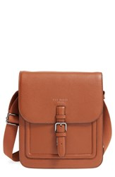 Men's Ted Baker London 'Paristo' Leather Messenger Bag
