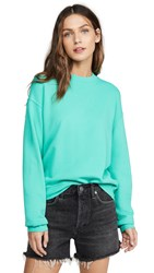 Stateside French Terry Sweatshirt Aqua