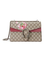 Gucci Dionysus Blooms Print Shoulder Bag Nude Neutrals