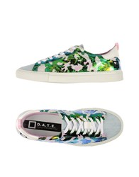 D.A.T.E. Footwear Low Tops And Trainers Women Green