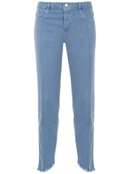 Mara Mac Cropped Jeans Blue