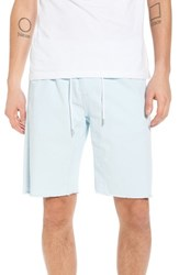 The Rail Jogger Shorts Blue Omphalodes