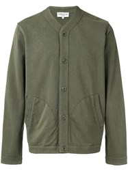 Ymc V Neck Cardigan Green