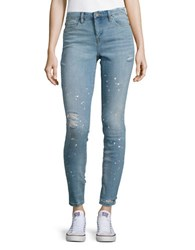 Blank Nyc Distressed Skinny Jeans Silent Show