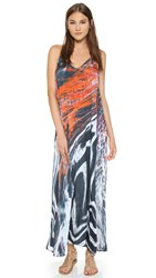 Lotta Stensson Hot Lava Pocket Maxi Dress