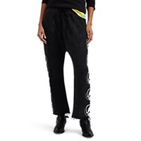 R 13 Grateful Dead Print Sweatpants Black