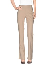 Laltramoda Trousers Casual Trousers Women Beige