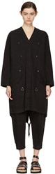 Alexander Wang T By Black Twill Coat