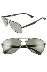 Ray Ban Men's 61Mm Polarized Aviator Sunglasses