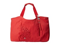 Haiku Day Tote Bittersweet Cranberry Tote Handbags Red