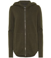 Atm Anthony Thomas Melillo Cotton French Terry Hoodie Green