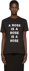 6397 Black A Rose Is T Shirt