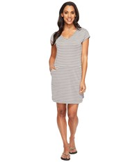 Lole Energic Dress White Stripe Women's Dress
