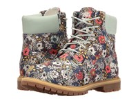 Timberland Icon Fabric Boot Light Green Floral Canvas Women's Boots Multi