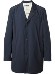 Loro Piana Classic Raincoat Blue