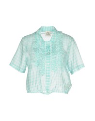 Attic And Barn Shirts Turquoise