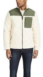 Faherty Sherpa Renegade Jacket Cream