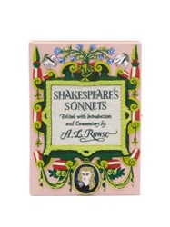 Olympia Le Tan Shakespeare's Sonnets Embroidered Book Clutch Multi