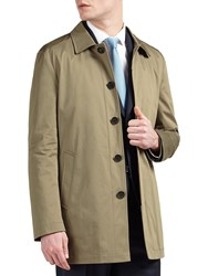 Guards Of London Water Resistant Tailored Shortie Raincoat Stone