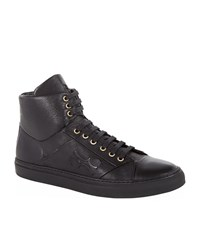 Billionaire High Top Calfskin Sneaker Male