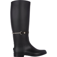 Barneys New York Knee High Rain Boots Black