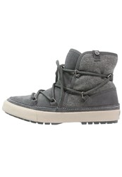 Roxy Whistler Winter Boots Charcoal Grey