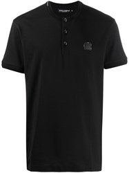 Dolce And Gabbana Buttoned T Shirt 60