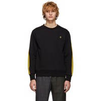 Stella Mccartney Black And Yellow Idol Sweatshirt