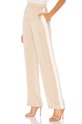 Theory Pull On Track Pant Tan