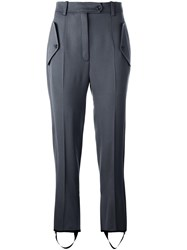 Nina Ricci Tailored Cropped Trousers Grey
