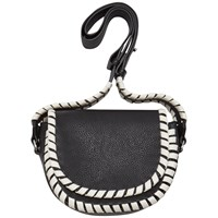 French Connection Claudia Cross Body Bag Black Summer White