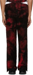 Haal Ssense Exclusive Red Borealis Lounge Pants