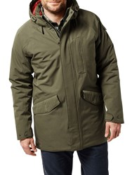 Craghoppers 250 Waterproof Insulating Jacket Dark Green
