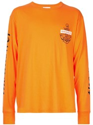 Makavelic Voyage Long Sleeve T Shirt Orange