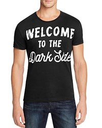 Happiness Welcome To The Dark Side Graphic Tee Black