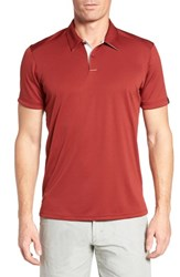 Oakley Divisional Polo Shirt Iron Red