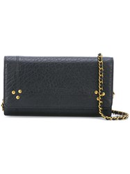 Jerome Dreyfuss Jack Wallet Crossbody Bag Women Calf Leather One Size Black