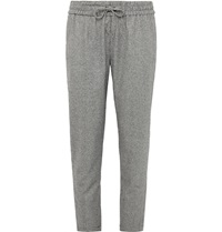 Ovadia And Sons Houndstooth Wool Trousers Black