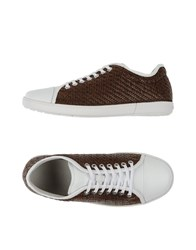 Giorgio Armani Footwear Low Tops And Trainers Men Beige