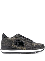 Atlantic Stars Vega Glitter Panelled Sneakers 60