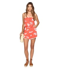 Volcom Pine For Me Romper Pistol Punch Women's Jumpsuit And Rompers One Piece Orange