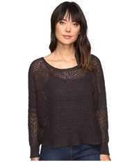 Billabong Dance With Me Sweater Off Black Women's Sweater