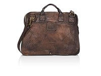 Campomaggi Men's Large Briefcase Brown