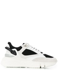 Buscemi Platform Low Top Trainers White