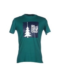 The Royal Pine Club T Shirts Dark Blue